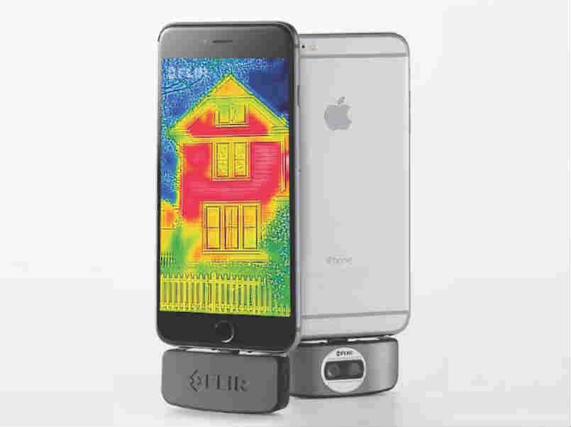 New FLIR One thermal imaging infrared camera lets you shoot