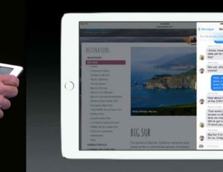 WWDC Live 2015: Apple finally brings advanced multitasking to the iPad with iOS 9