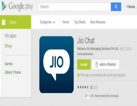 jio chat web