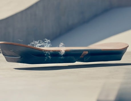 Lexus teases it is bringing 'Back to the Future' magnetic levitating hoverboard to reality