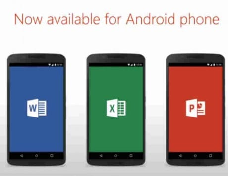 Microsoft Office finally comes to Android smartphones