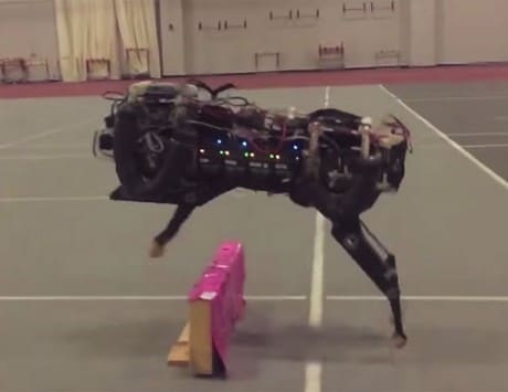 MIT's obstacle jumping robot is your worst nightmare come true [video]