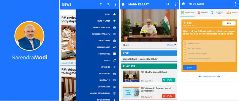 Shocking! Narendra Modi Android app wants to access your Twitter
