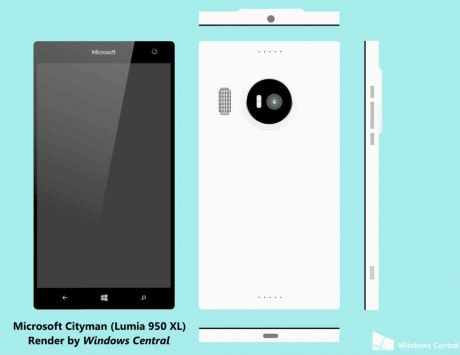 Microsoft Lumia 950, Lumia 950 XL specifications and features leaked; will come with iris scanner and stylus support