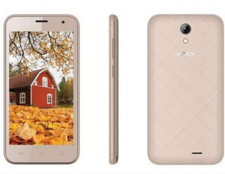 Intex Aqua Y4 with 4.5-inch display launched, priced at Rs 4,190: Specifications and features