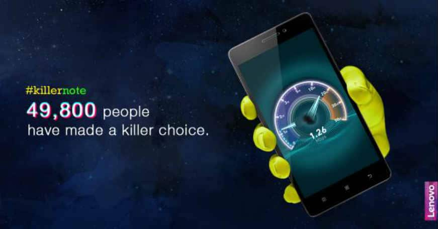 Almost 50,000 Lenovo K3 Note units sold out in seconds on