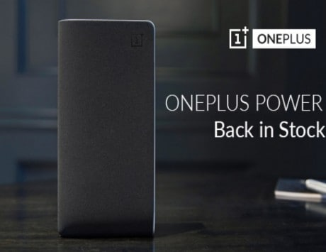 OnePlus 10,000 mAh Power Bank silk white variant now on stock at Amazon India for Rs 1,399
