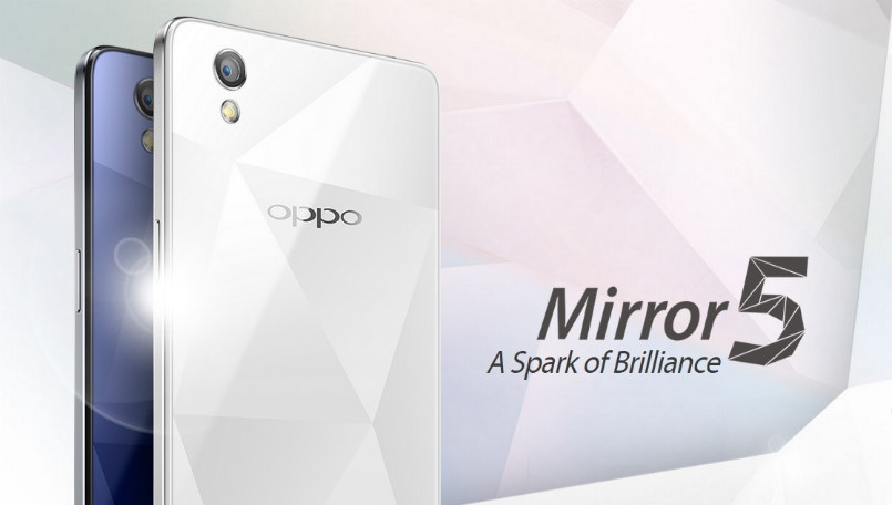 Oppo Mirror 5-inch display and Android Lollipop announced: Specifications and features