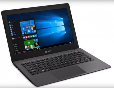 Acer Aspire One Cloudbook running on Windows 10 announced
