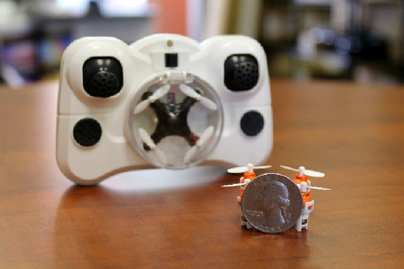 Meet Aerius The Worlds Smallest Drone Thats Size Of A Coin