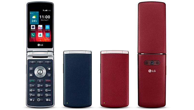 LG Wine Smart flip smartphone launched with Android 5.1 Lollipop and 4G LTE support onboard: Specifications, features