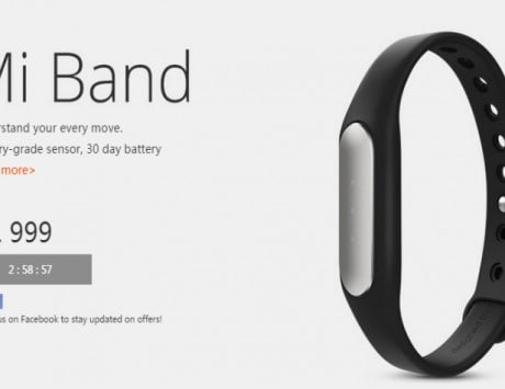 Xiaomi Mi Band, Mi 16,000mAh Power Bank to go on open sale at 2PM today