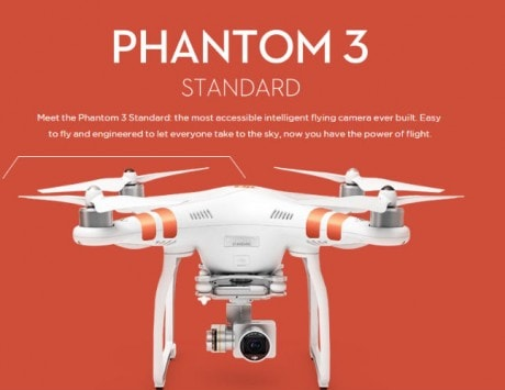 DJI Phantom 3 Standard camera drone launched, priced at $799