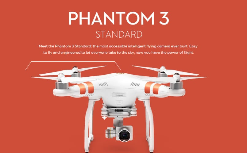 DJI Phantom 3 Standard camera drone launched, priced at $799 | Latest ...