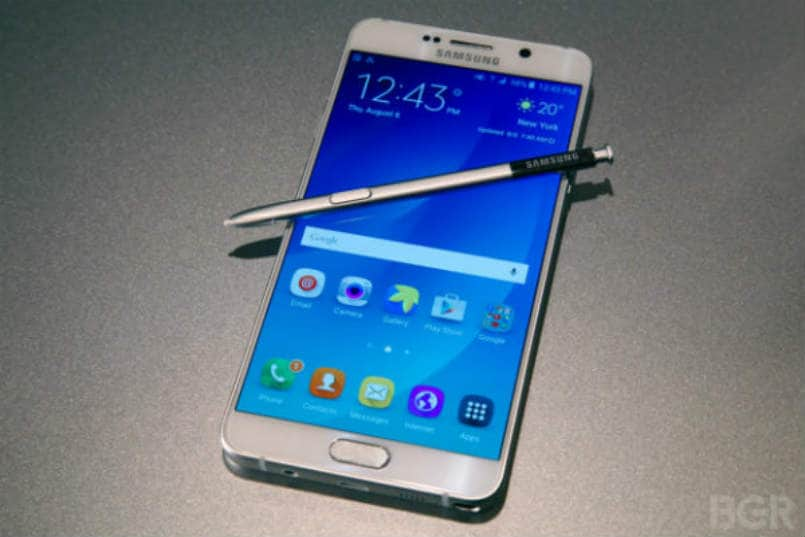 Samsung Galaxy Note 5 and Galaxy S6 Edge get August Android Security Patch