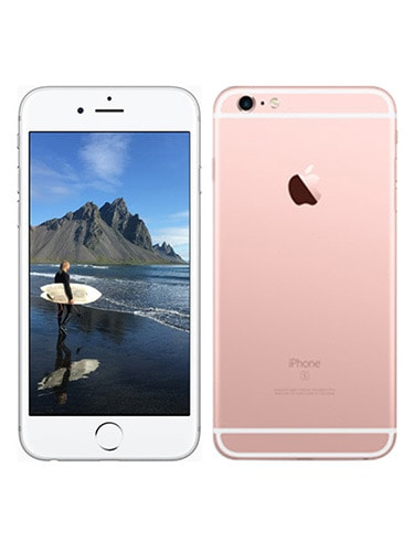 Apple iPhone 6s Plus (128 GB) Front and Back