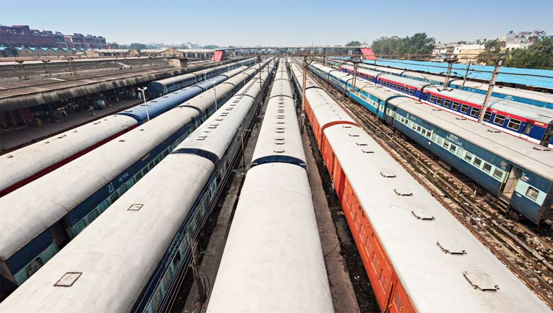 indian-railways-stock-image