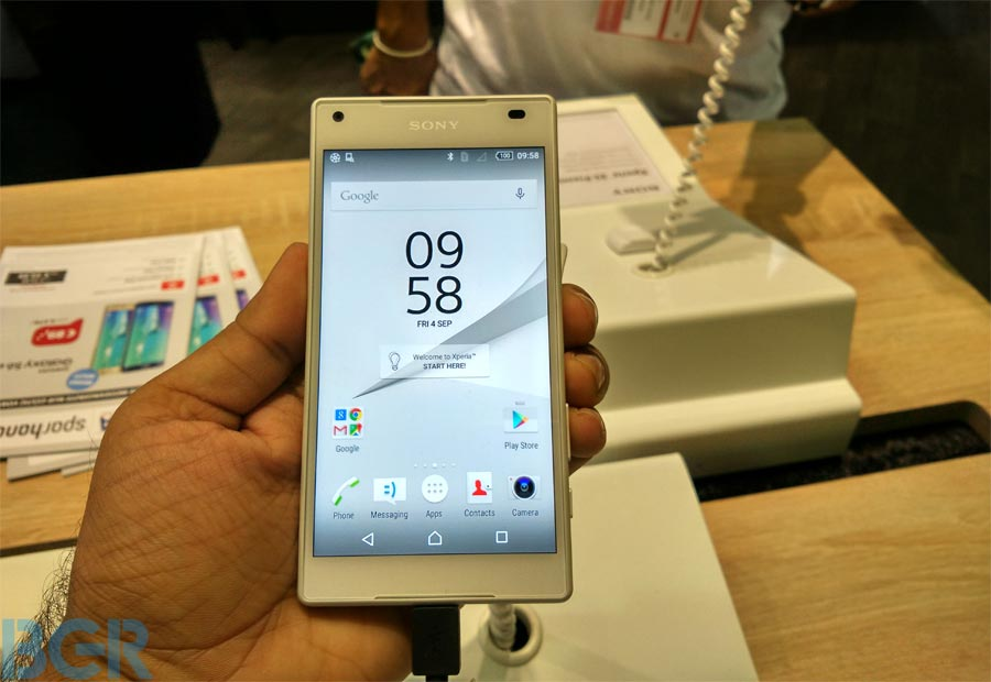 IFA 2015 Live: Sony Xperia Z5 Compact, Xperia Z5 Premium hands-on photo gallery
