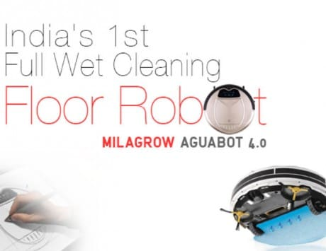 Milagrow Aquabot 4.0 full wet floor cleaning robot launched in India, priced at Rs 29,990