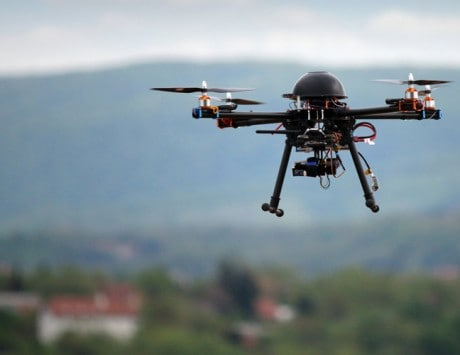 Drones being used to deliver medical supplies in remote areas of Africa