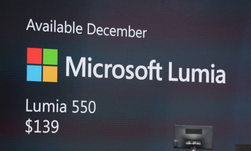 Microsoft Windows 10 devices launch live updates: Lumia 550 announced; Price, specifications and features
