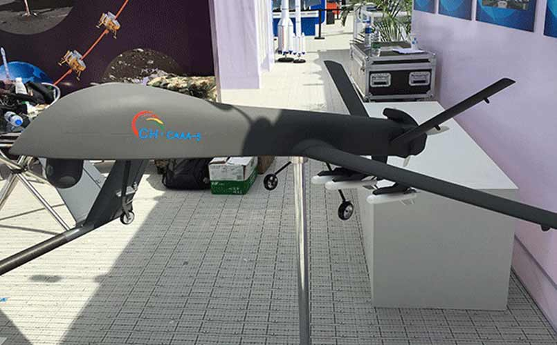 China Showcases The Biggest Military Drone CH 5