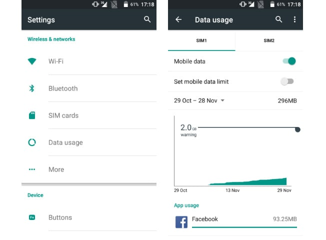 Here's how you can set data usage limit on your Android