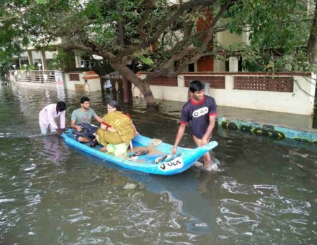 Ola launches ferry service to rescue people in water-logged Chennai