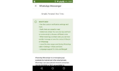 WhatsApp's new update for Android adds language support ...