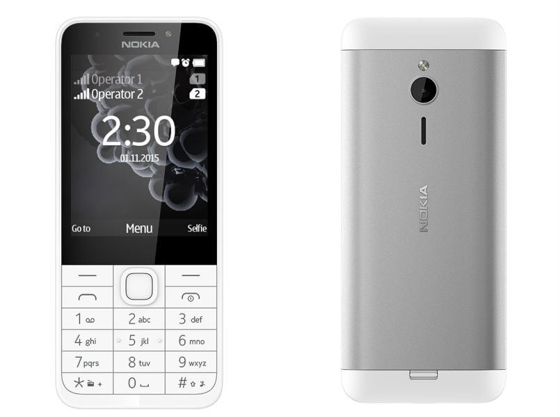 Microsoft launches Nokia 230 Dual SIM feature phone in India, priced at Rs 3,869: Specifications and features