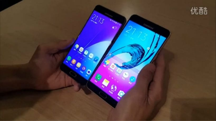 Samsung Galaxy A9 Compared With Galaxy A7 2016 In A Leaked Video