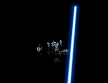Google's new Chrome experiment lets you fight stormtroopers using your smartphone as a lightsaber