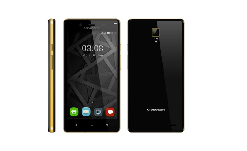 Videocon Z55 Krypton 4G smartphone with scratch-proof glass launched: Price, specifications, features
