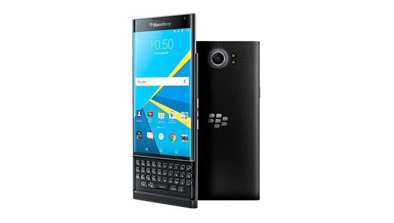 BlackBerry Priv: From slide-out QWERTY keyboard to 18