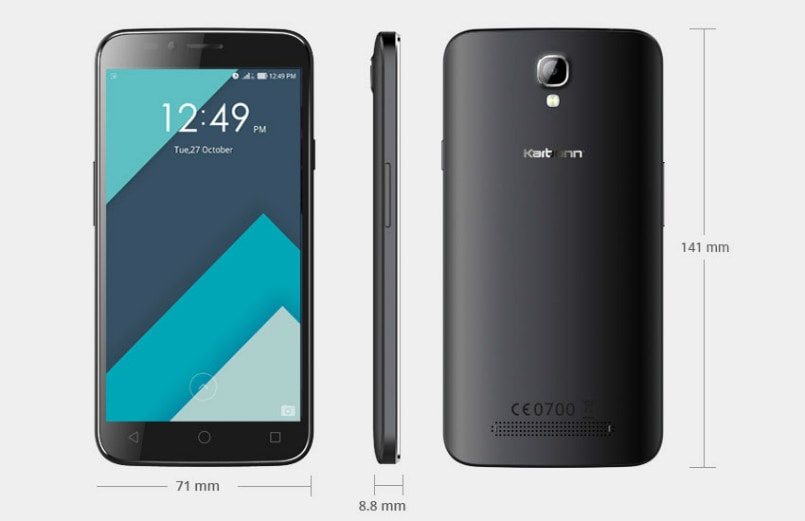 Karbonn Quattro L50 with 2GB RAM, 13-megapixel camera listed online, price starts from Rs 7,990