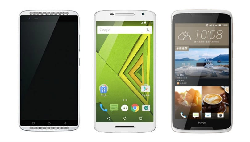 Lenovo Vibe X3 vs Moto X Play vs HTC Desire 828: Price, specifications and features compared