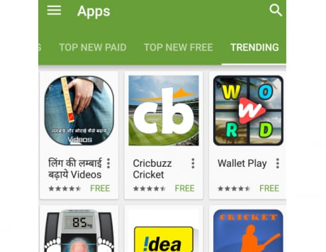 Google's porn problem: App to enlarge your genitals is top trending app on Play Store in India