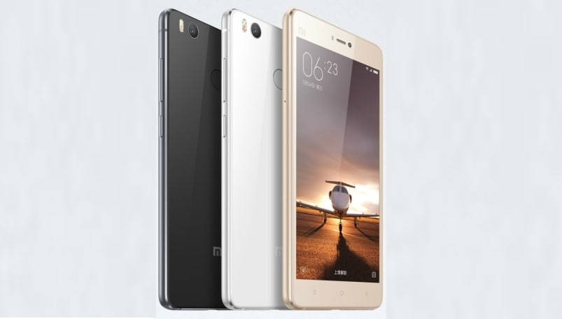 Xiaomi Mi 4s with fingerprint sensor, metal frame, double glass announced ahead of Mi 5