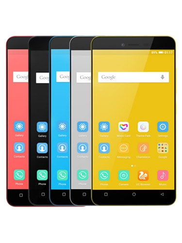 Gionee P5L Colors