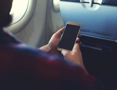 Telecom Commission clears in-flight mobile services and internet telephony