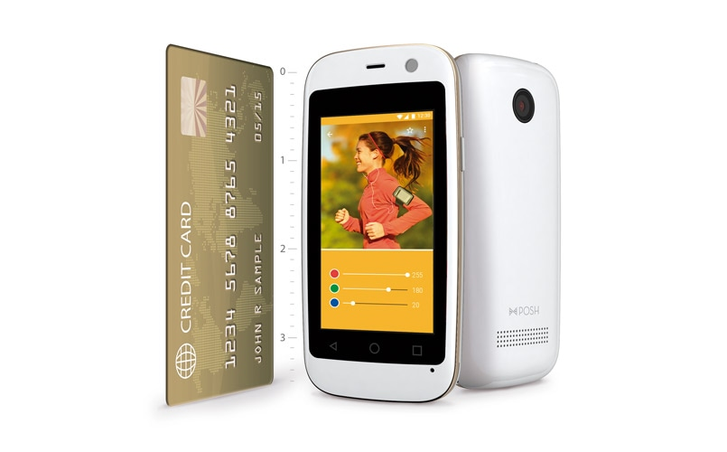 Smallest android smartphone