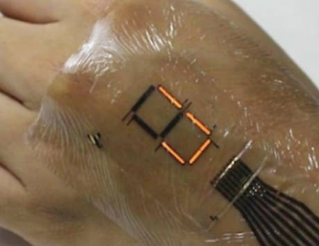 Researchers develop electric 'skin' that lets you remotely control appliances