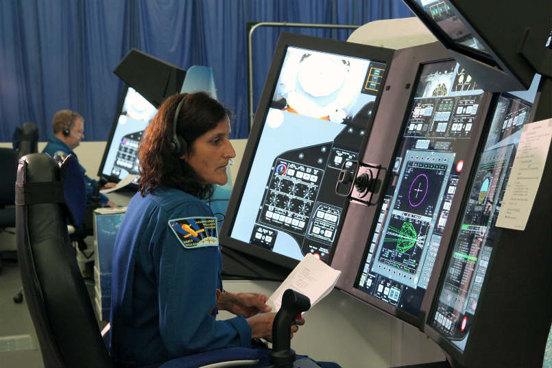 about sunita williams in short