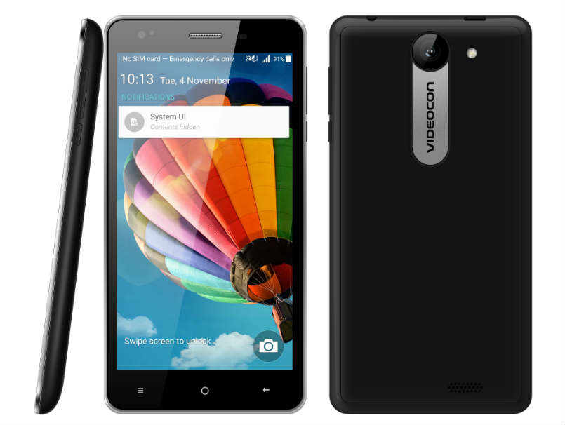 Videocon Krypton V50DA, Krypton V50DC smartphones launched: Price, specifications and features