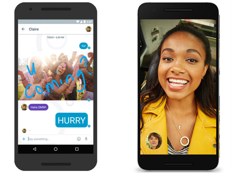 How to pre-register for Google Allo and Duo messaging and video