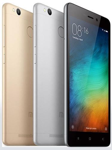 Xiaomi Redmi 3S Colors