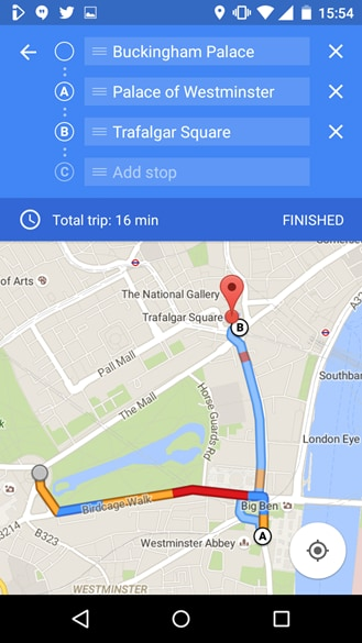 Google Maps Now Lets Android Users To Add Multiple