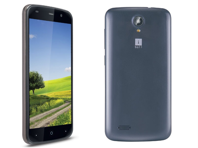 iBall Andi 5L Rider with 5-inch display, 1GB of RAM launched for Rs 4,999: Specifications and features