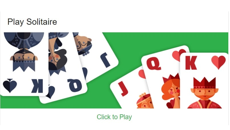 You can now play solitaire and tic-tac-toe games right in Google search