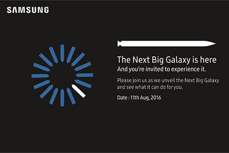 Samsung Invites You to Note-Event